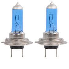 2 x H7 55W Halogen Light Bright White Car Headlight Bulbs Bulb Lamp 12V 6000K