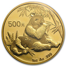 2007 1 oz Gold Chinese Panda Coin - Sealed in Plastic - SKU #18506