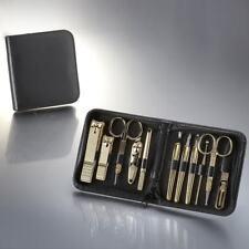 Three Seven 777 Travel Manicure Pedicure Grooming Set, steel,TS-810G