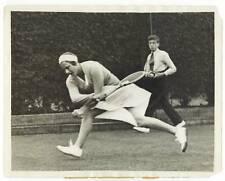 1931 Helen Jacobs Wimbledon Tennis Original Wire Photo!