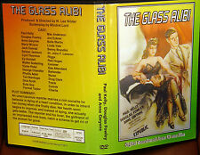 THE GLASS ALIBI DVD 1946 Paul Kelly, Douglas Fowley, Anne Gwynne, Maris Wrixon