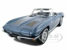 1963 CORVETTE STING RAY CONVT BLUE LTD ED 1:18 DIECAST MODEL CAR  AUTOART 71192