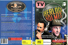 The Adventures of Sherlock Holmes:Vol 2-1950/1955-TV Series USA-3 Episodes-DVD