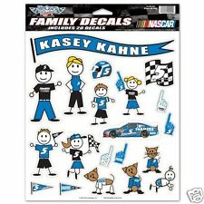 "WinCraft Racing Kasey Kahne #5 HMS Farmers Insurance""Family Decals"" NEW"