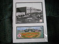 FENWAY PARK  100TH ANNIV. PHOTO AND 1ST DAY COVER   4/20/12  BOSTON, MA.