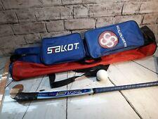 Mens STX Renegade Field Hockey Stick Bag Ball Set Blue