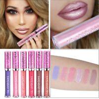 Glitter Shimmer Liquid Lipstick Velvet Matte Lip Gloss Waterproof New ARrrival