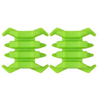 2pcs Rubber Split Limb Vibration Dampener for Compound Bow, Green
