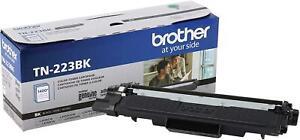 Brother Genuine TN223BK Standard Black Toner Cartridge HL-L3210CW/MFC-L3710CW...