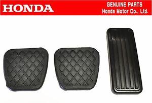 HONDA GENUINE CRX EF8 SIR  Gas&Brake&Clutch Pedal Pads Set OEM JDM