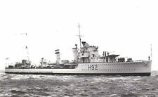ROYAL NAVY G CLASS DESTROYER HMS GLOWWORM - GERARD ROOPE VC - HIPPER ACTION