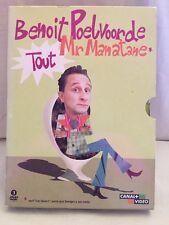 Benoit Poelvoorde Mr Manatane Tout 3 DVDs
