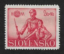 Slovakia 1942,Hlinka Youth Society 2+1K Stamp (CX6)