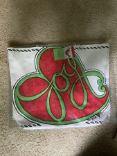 Brighton Canvas Christmas Tote - Joy And Dove New In Orgi Package