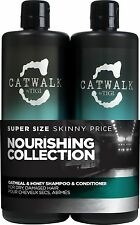Tigi Catwalk Oatmeal & Honey Shampoo and Conditioner 750ml Duo Pack