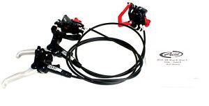 Avid Elixir 5 Mountain E-Bike Bicycle Bike Hydraulic Disc Rotor Brake Set Black