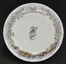Royal Doulton ~ Brambly Hedge ~ Meeting On The Sand ~ Tea Saucer ONLY ~ New 1st