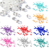 1000 3000 Confetti Crystals Wedding Scatter Table Centrepiece Diamante Gem Beads