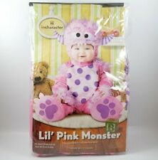 Incharacter Costume Lil Pink Monster Infant 12-18 Months