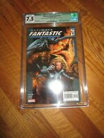 ULTIMATE FANTASTIC FOUR #21 CGC 7.5 MARVEL COMICS 9/2005 1ST ZOMBIES APPEARANCE