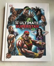 WWE Ultimate Superstars Guide SIGNED by ROMAN REIGNS & AJ LEE JSA COA