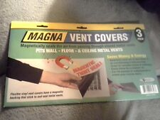 "Magnetic Cover 3 pk for Wall Ceilling Floor Vent 8""x15"""
