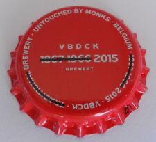Belgium Unused Bottle Cap Verbeeck Back De Cock Brewery Micro Craft Beer Chapa