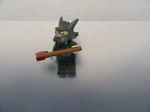 LEGO MINIFIGURE THE SIMPSONS SERIES 1 Scratchy MINIFIGURE