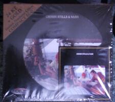 "AUDIO FIDELTY GOLD CD ""CROSBY STILLS & NASH"""