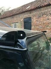 """Land Rover Defender Led Light Bar Brackets Mounts 52"""" Fits Gutters Black"""