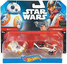 Hot Wheels Star Wars BB 8 VS Poe Dameron Vehicle 1 64 Scale UK