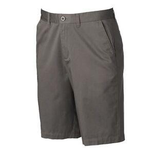 Apt. 9 Shorts Men's Gray Size 40 Modern Fit Flat Front New