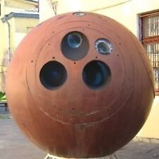 Zenit Re-Entry Space Capsule Mahogany Desktop Kiln Dry Wood Model Large New