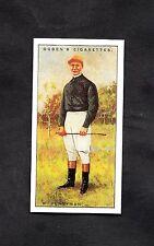 1930 Ogden's Cigarette Card Jockey 1930 No36 R. Perryman