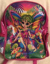 VTG 90's Rare!!! LISA FRANK Pink Fairy Backpack ❌AS IS❌