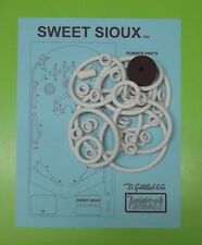1959 Gottlieb Sweet Sioux pinball rubber ring kit