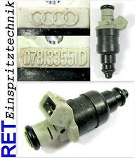 Iniettore strumento 078133551d AUDI a 4 VW GOLF PASSAT 1,6 74 KW puliti esaminato &