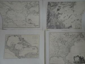 American Revolution 1775-1783 Atlas 18th Century Maps Charts Set of 20