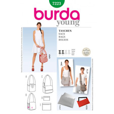 Burda Style Shoulder Bag Trio Messenger Bag Fabric Sewing Pattern 7223