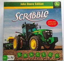 Hasbro John Deere Edition Scrabble - Used Good