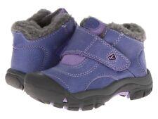 NWOT KEEN Kootenay Winter Orient Blue Bougainvillea Purple Snow Boots Shoes Y 8