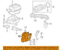 HONDA OEM 13-16 Accord Air Cleaner Intake-Resonator Duct Tube Hose 172305G0A00