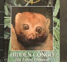 National Geographic Vid Hidden Congo Forest Primeval WORLD LAST GREAT PLACES VHS