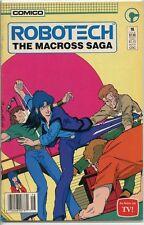 Robotech the Macross Saga 1985 series # 16 fine UPC code comic book