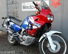 Honda XRV 750 Africa Twin Engine Radiator Guard Crash Bars Black Mmoto MM33