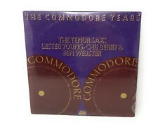The Commodore Years The Tenor Sax Lester Young Chu Berry & Ben Webster Jazz LP