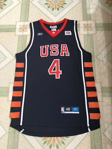 Allen Iverson #4 American Dream Team 2004 Athens Olympic Games - Size : S to 4XL