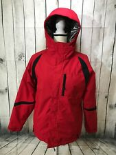 Columbia Red Omniheat Titanium Full Zip Jacket Womens Size 14/16