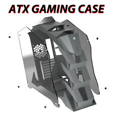 K1 Pangolin Open Frame Mid-Tower Gaming Pc Computer Case Atx/Micro-Atx/Itx