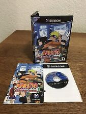 Gamecube Nintendo Shonen Jump's Naruto Clash Of Ninja CIB Complete
